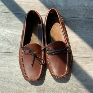 LLBean Leather Double-Sole Slippers